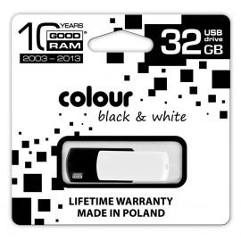 GOODRAM Color Mix 32GB USB 2.0 Czarno Biały