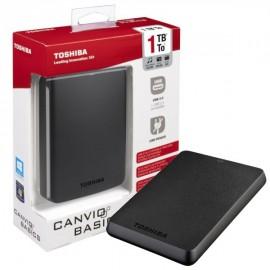 Dysk zewnętrzny Toshiba Canvio Basics Black 1TB