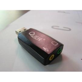 Karta dźwiękowa firmy Quer USB 2.0 KOM0638