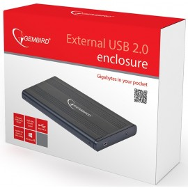Gembird Zewnętrzna obudowa USB 2.0 na 2.5 '' SATA HDD