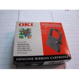 Barwiąca, czarna taśma OKI 09002303 do drukarek OKI
