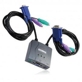 Edimax Przełącznik KVM, 2 porty